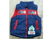 Boys Thomas fleecelined body warmer age 2-3 years