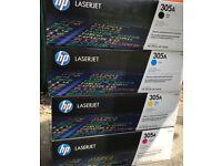 HP Original Cartridge Toner Set x 4 / CE410A CE411A CE412A CE413A