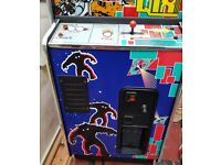 Space Invaders 25th Anniversary with Qix Arcade machine