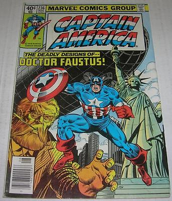 CAPTAIN AMERICA #236 MARK JEWELERS VARIANT (1979) DAREDEVIL app (FN-) - Jewel Superhero