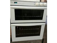 WHITE,WHIRLPOOL ELECTRIC BUILT UNDER DOUBLE OVEN.IMMACULATE THROUGHOUT.