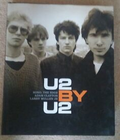 U2 by U2 Hardback book (used but as new condition wise)