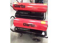 Space Heater, Clarke XR160, 46.8Kw