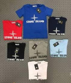 Kids t-shirts STONE ISLAND, EA7 and BOSS