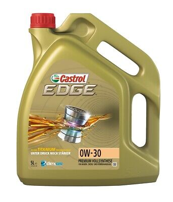Castrol   Motoröl 0W-30 Edge Titanium FST (5 L) (1533DD) für Opel VW Moskvich