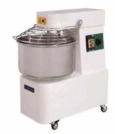 Commercial Pizza Bakery Dough mixer Spiral 30Lt