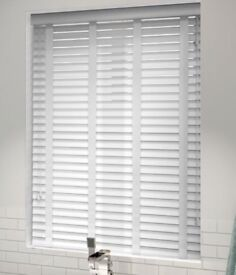 Blinds, white, BRAND NEW STILL BOXED, 3 sets, 2 sizes.