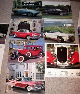 Classic Car Photos Calendars Hawk Fiat Otto Edsel Sunbeam BMW