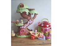 happyland tree house and fairy cottage bundle