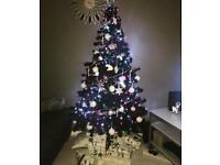 5ft black Christmas tree