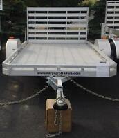 6.5 x 12 ALUMINUM UTILITY TRAILER WITH RAMP