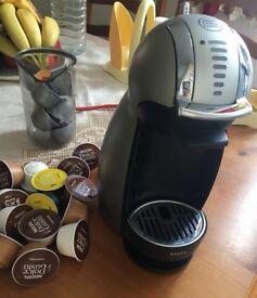 Nespresso coffee machine with pods