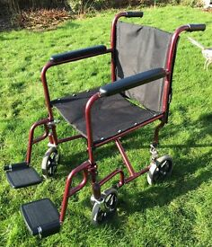Cooper Lightweight Foldable Wheelchair