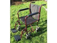 Cooper Lightweight Foldable Wheelchair