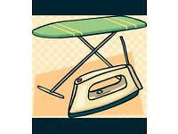 Ironing services.