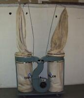 Delta double bag Dust collector 3 HP