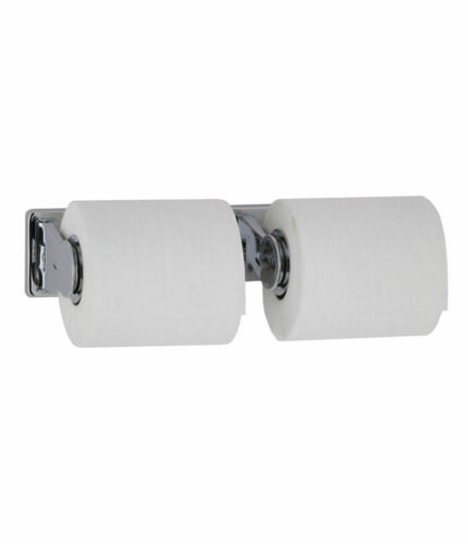 Bobrick B265 Surface Mount Vandal Resistant Double Roll Toilet Paper Dispenser