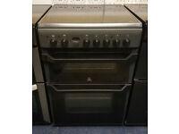 £190 Grey Indesit 60cm Ceramic Cooker – 12 Months Warranty