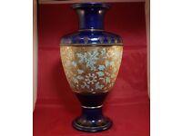 Vintage Art Nouveau Royal Doulton Centre Piece Porcelain Vase