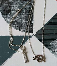 Topshop - Elephant necklace