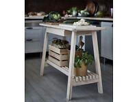 Kitchen Island (Ikea Norraker, light wood)