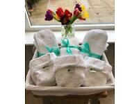 Little Lamb reusable/washable nappies (UNUSED)