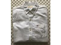Men's Hollister Long Sleeve White Shirt Small