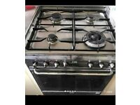 Smeg gas cooker stainless