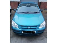 05 Hyundai Getz Moted Nov 18 £750 o.n.o not your usual scrap swap with cash for diesel