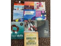 University Law Textbooks - Basically New - No Note Writing in Them