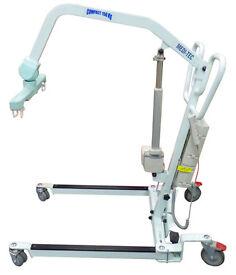 Medi-Tec Spectra 2100E Compact 150kg Mobile Electric Patient / Training Hoist. New Batteries