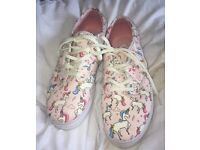 Unicorn Vans Ladies Size 4 (37)