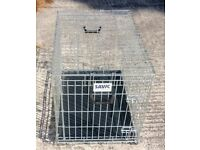 Collapsible dog cage/crate by Savic, Large size, vgc, £50