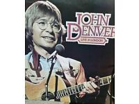 Signed John Denver live in London LP