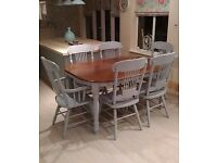 LARGE DINIMG TABLE AND 6 CHAIRS DELIVERY AVAILABLE