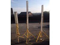 3 tripod plasteres lights -Carlton, nottingham £60 for all 3