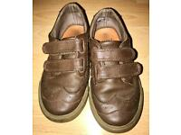 Boys brown shoes size 8 from Debenhams