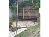 Indian sandstone circle stones/patio