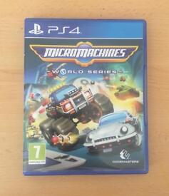 Micromachines Ps4 game