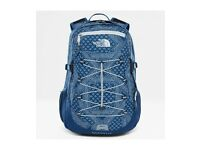 North Face Borealis Classic Unisex Rucksack Hiking - Shady Blue Bandana Print