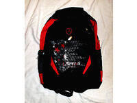 Man Backpack Bag Black