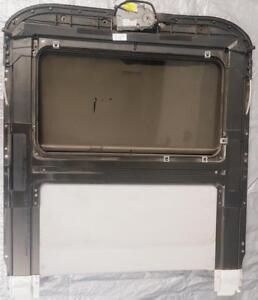 SUNROOF ASSEMBLY - TOP - MOON ROOF with FRAME RAIL TRACK GLASS ASSEMBLY & WEBASTO MOTOR for 2004 to 2009 AUDI A4/S4 $350