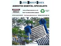 Asbestos roof removal Asbestos removal and testing and surveys