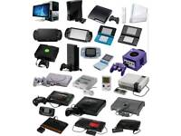 OLD RETRO CONSOLES AND GAMES