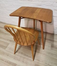 Ercol Desk/Table Extension (DELIVERY AVAILABLE FOR THIS ITEM OF FURNITURE)