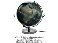 Wanted Wild and wolf city lights globe