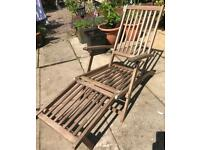 GARDEN STEAMER CHAIR