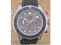 OMEGA Seamaster Diver 300 M Co-Axial Chronograph 44 MM ETNZ Edition