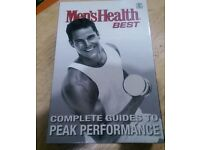 Box Set. Men's health - complete guide to peak performance. 6 books