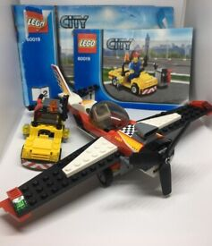 LEGO City Stunt Plane Set 60019 with Instructions